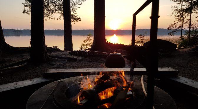 Haukkajärvi Helvetinjärven kansallispuistossa, Kelo ja kallio Adventures